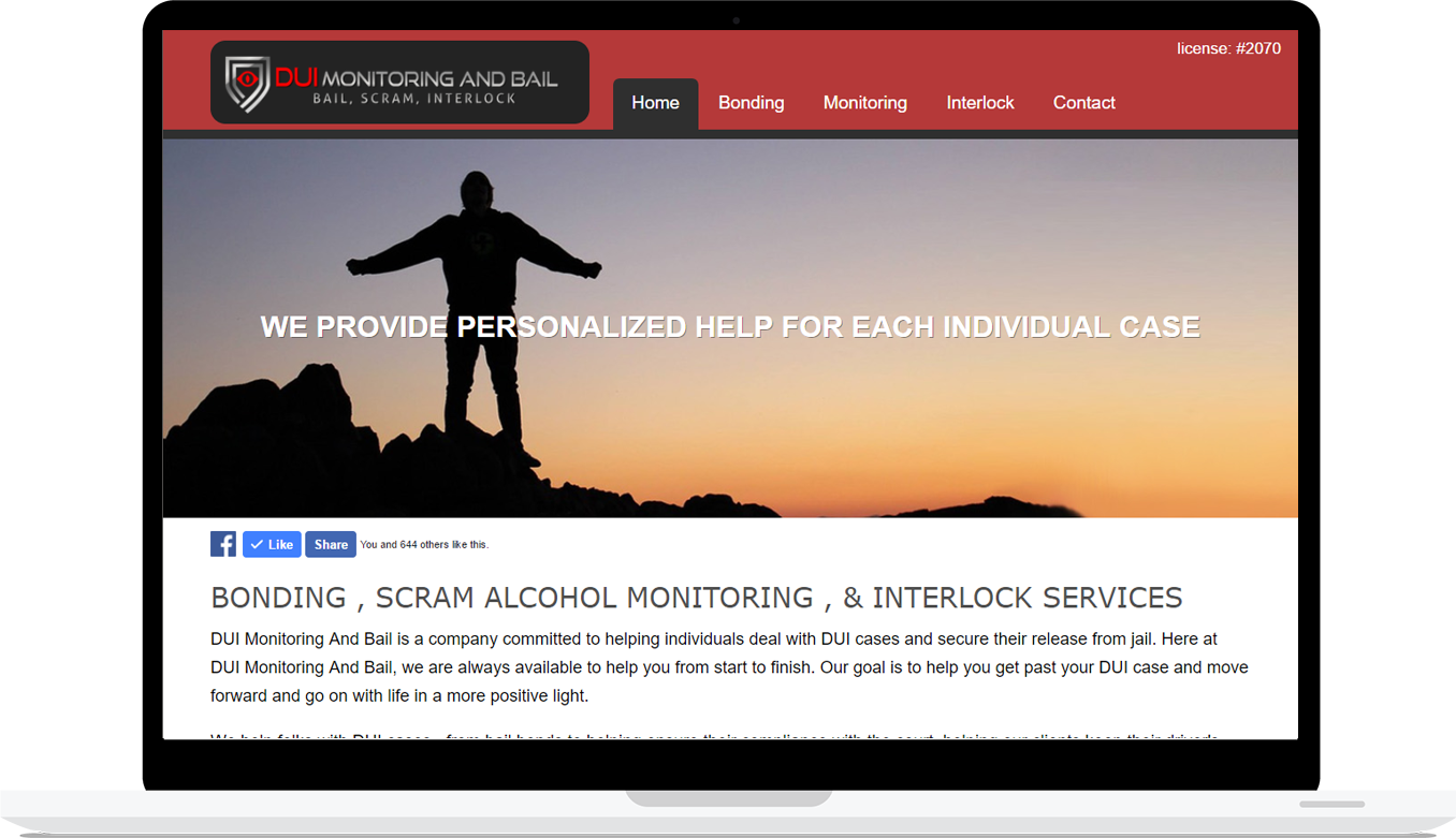 DUI Monitoring and Bail